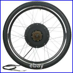 26 Electric Bicycle Front/Rear Wheel 48V 1000With1500W Ebike Motor Conversion Kit