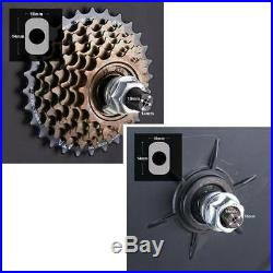 36/48V 500/1000W 26 Electric Bicycle Motor Conversion Kit Front/Rear Wheel