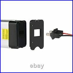 36V 10Ah Lithium-ion Ebike Battery Silver Fish For Max 350W Electric Bike Motor