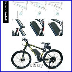 36V 13A Lithium Battery Fit Motor Power 500w Electric E-Bike (R001 Series)