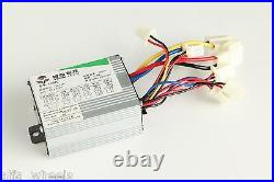 450W 24V electric bicycle brush motor conversion kit w control & thumb throttle