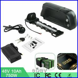 48V 10A Lithium Battery Fit Motor Power 1000W Electric E-Bike (R001 Series)