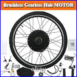48V 1500W Rear Motor Wheel Conversion Kit 26 For Electric Bicycle E-Bike Clying