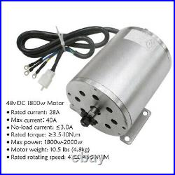 48V 1800W Electric Brushless Motor Controller Battery For Scooter ATV Bike Buggy