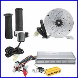 48V 2000W Electric Brush Motor With Controller Kit EBike Conversion Accessories