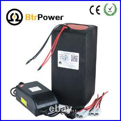 48v 50Ah Lithium Battery Pack for Electric Bike 3000W Motor Li-ion Cell