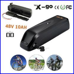 500W 48V 10.4Ah HaiLong Lithium-ion E-bike Battery Pack f Electric Bicycle Motor