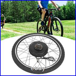 500With1000W 26 Electric Bicycle Motor Conversion Kit Front/Rear Wheel E Bike UK