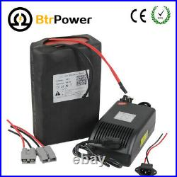 BtrPower 48V 18Ah Lithium Li-ion Cell Battery Pack for Electric Bike 1000W Motor