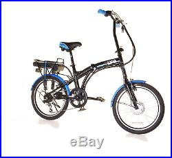 EBike Infusion 24v Folding Electric Bike 20 Black MANUFACTURER REFURB