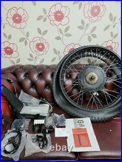Ebike Electric Bicycle Shimano 48V 1500W Motor Conversion Kit Snow Fat Tire 26