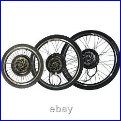 Electric Bicycle Conversion Kit 48V 1500W Bluetooth bike Front Rear Motor Wheel