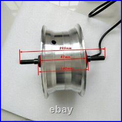 Electric Bicycle Motor 60V 11 inch 270mm Scooter Hub Motor Wheel Forward 100km/