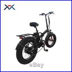 Electric Bike Fat Tire 250W Motor Adult Battery 36V Charger LED display 20 Inch
