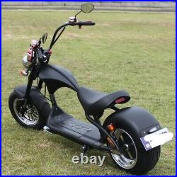 Electric Citycoco scooter Harley style 2000W motor 60V 20Ah Battery E- Bike