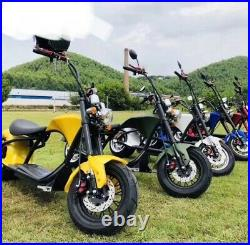 Electric Citycoco scooter Harley style 2000W motor 60V 20Ah Battery E Bike