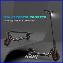 Electric Scooters Kick Scooter Black E-scooter 250W Motor Electric Bicycle