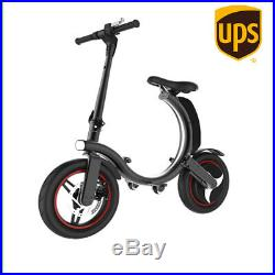 Folding Electric Bike 500W 14inch Bicycle With Battery Motor 36V 15/Mph 25km/h