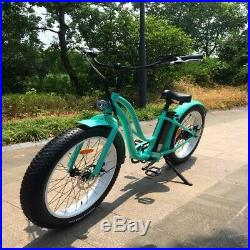 Our Fabulous Beach Fat Tyre Electric bike 26 500with48v Motor