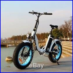 Our fabulous Fat Tyre Foldable Electric Bike, With 500with48v Motor